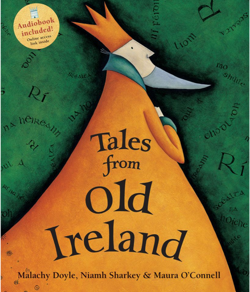 BOOK W/CD, TALES FROM OLD IRELAND, Barefoot Books - 96 Pages
