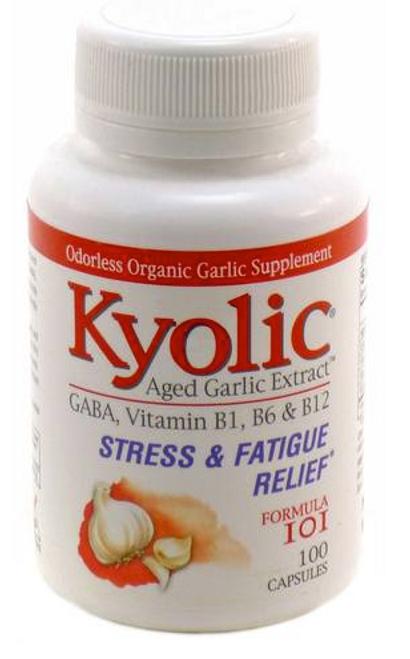 AGED GARLIC EXTRACT #101, STRESS & FATIGUE RELIEF 100 CAP