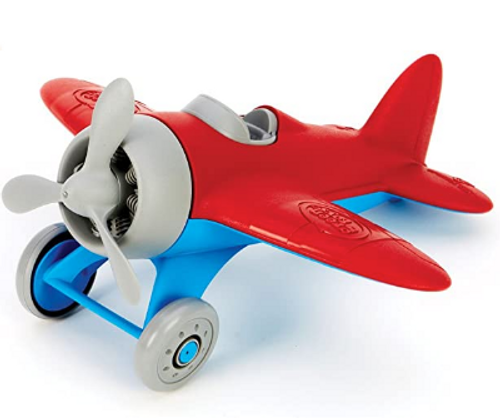 *SALE* AIRPLANE, RED, GREEN TOYS - REG. $15