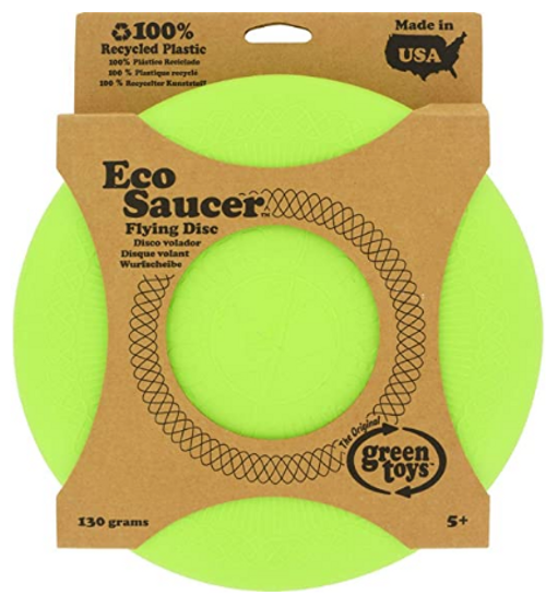 ECO SAUCER, GREEN frisbee 10 in