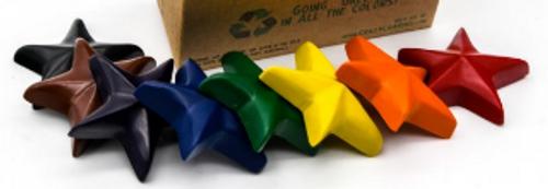 CRAYONS, Recycled STARS, Crazy Crayons - 10 CTBOX