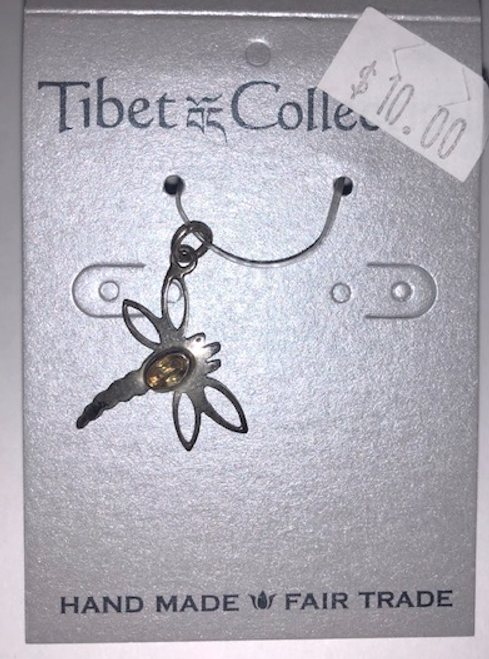 PENDANT, Dragonfly, Tibet Collection