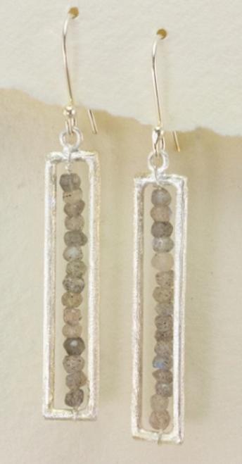 *SALE* EARRINGS, CRYSTAL FORTRESS, Lunar Revolution - 1 Pair REG. $34.50