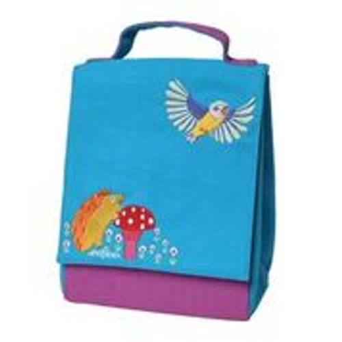 *DEAL* LUNCH BAG, HEDGEHOG & BIRD, Eeboo - each