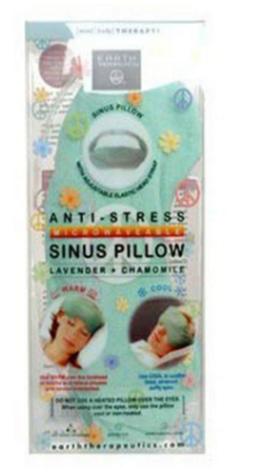 ANTI-STRESS SINUS PILLOW, Earth Theapeutics, EACH