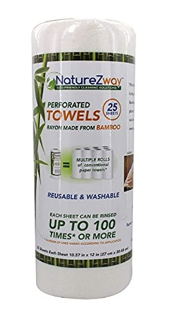 TOWELS,BAMBOO- Nature Zway, 25CT