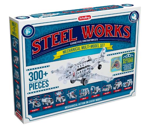 BUILDING KIT, STEEL WORKS Mechanical Multi-model, SCHYLLING