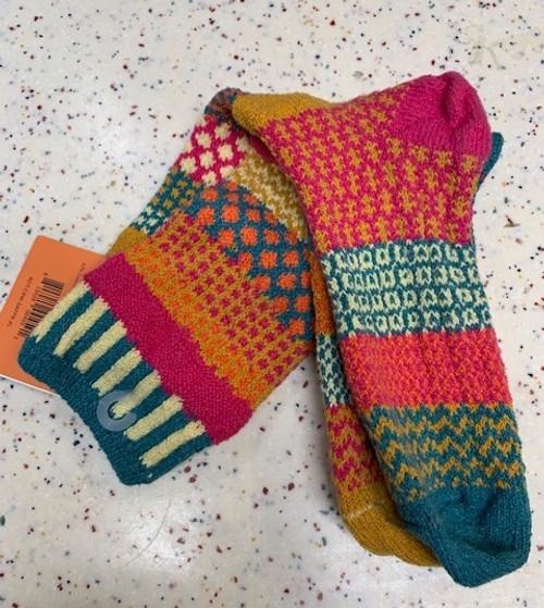 SOCKS, CREW SOCKS, XL SAFFRON, Solmate Socks