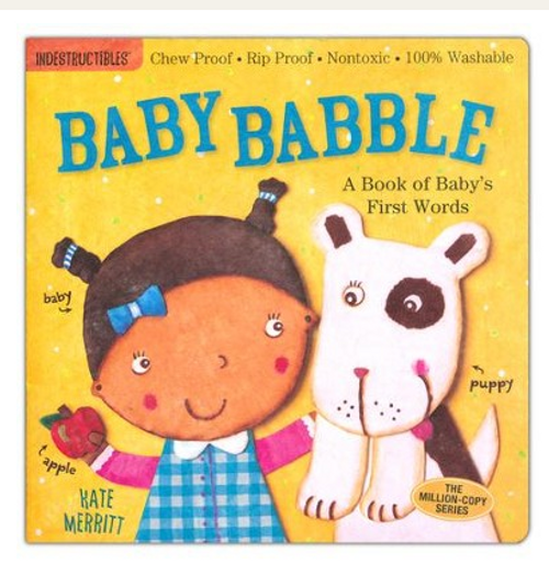 BOOK, BABY BABBLE, Indestructibles - 12 Pages