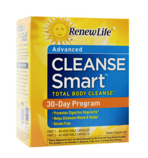 *SALE* CLEANSE, TOTAL BODY Advanced Cleanse, Renew Life, 120 capsules