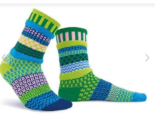 SOCKS, CREW SOCKS, MEDIUM WATER LILY, Solmate Socks