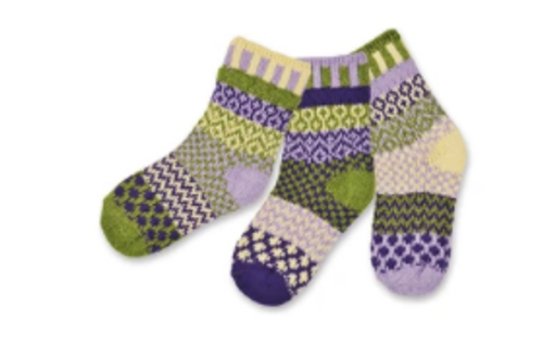 KIDS SOCKS, SMALL CATERPILLAR, Solmate - 3 socks