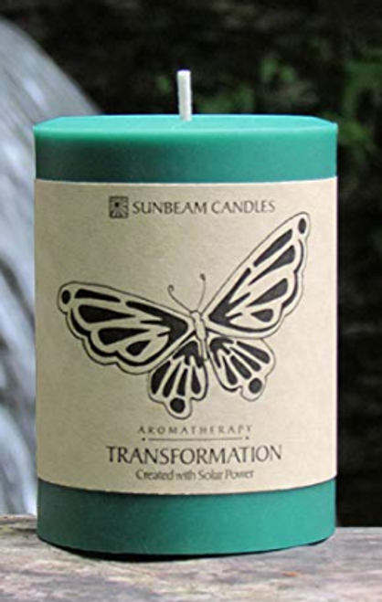 CANDLE, TRANSFORMATION BEESWAX CANDLE, 3 x 4 inch PILLAR