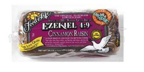 BREAD, EZEKIAL, CINNAMON RAISIN, 24 oz