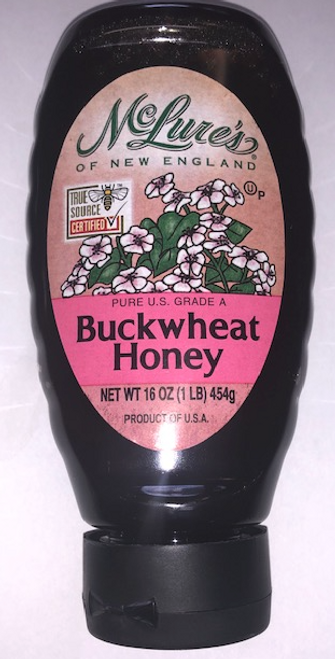 upc, HONEY, BUCKWHEAT, Mclure's, 16 fl oz