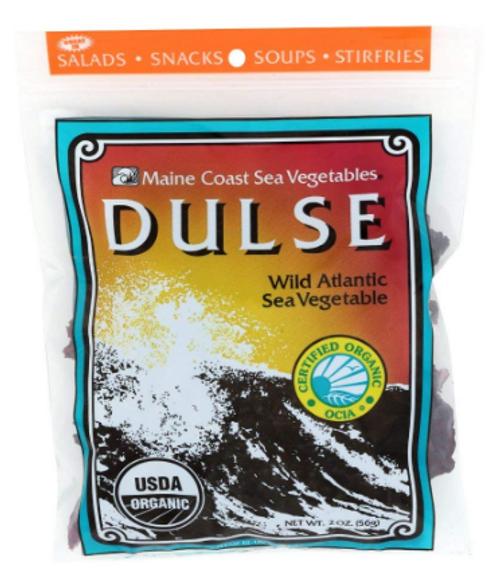 DULSE, Whole Leaf Organic, Maine Coast  2 oz