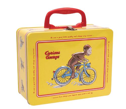 Curious George Tin Keepsake Box, Schylling