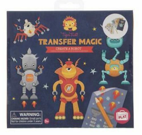 CRAFT KIT, Create a robot transfer magic, TIGER TRIBE, 1 kit