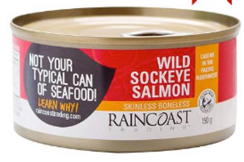 can, RED SALMON, WILD SOCKEYE, 5.3 oz