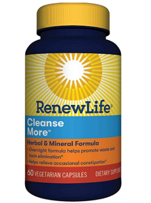 *SALE* CLEANSEMORE, Renew Life, 60 VCAPS