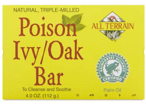 BAR SOAP, POISON IVY/OAK, All Terrain,   4 oz