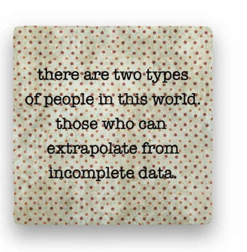 "EXTRAPOLATE COASTER, ""There are two types ... """