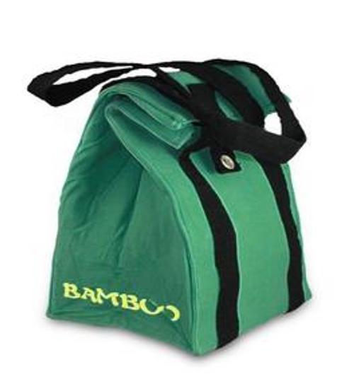 BAMBOO LUNCH BAG, Green - New Wave Enviro