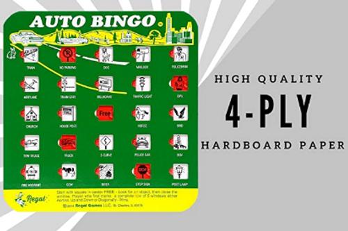 AUTO BINGO CARDS, Original Series - 1 Bingo Card