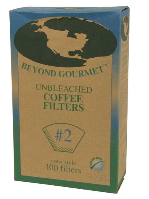 COFFEE, FILTERS, Beyond Gourmet, #2 CONE