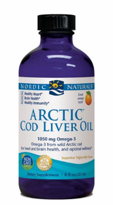 ARCTIC COD LIVER OIL ORANGE, Nordic, 8 fl oz