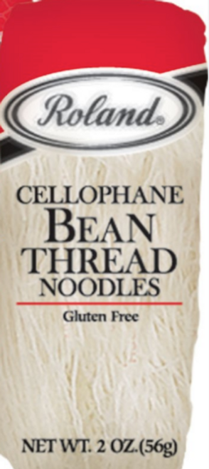BEAN THREAD NOODLES,  G/F 2 oz ROLAND