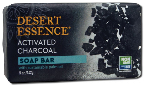 BAR SOAP,  CHARCOAL, Desert Essence, 5 oz