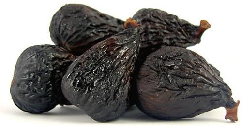 BLACK MISSION FIGS, Dried, Organic, 1 lb