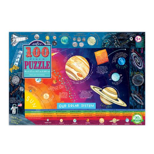 PUZZLE, Solar System, eeBoo - 100 Pieces