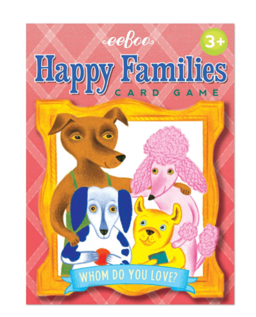 CARD GAME, HAPPY FAMILIES CARDS