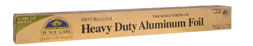 ALUMINUM FOIL, Heavy Duty, RECYCLED, If You Care,  30 sq ft