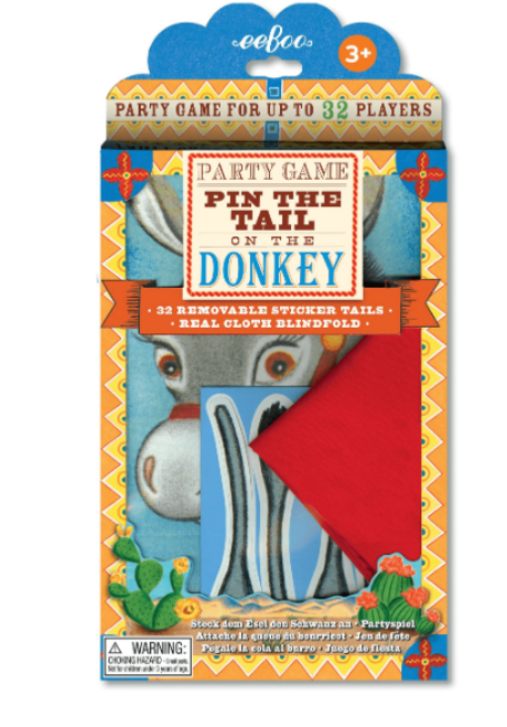 GAME, PIN THE TAIL ON THE DONKEY, Eeboo