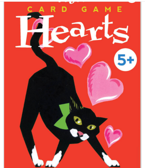 CARD GAME, HEARTS, playing cards