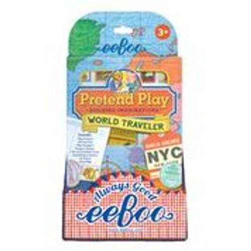 *SALE* PRETEND WORLD TRAVELER, Eeboo - 1 Play Set