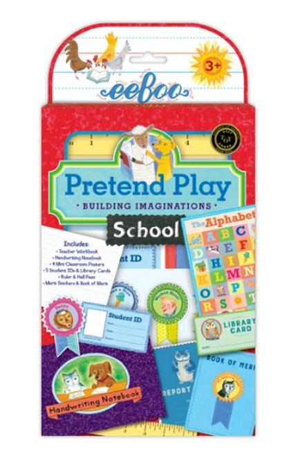 *SALE* PRETEND SCHOOL, Eeboo - 1 play set