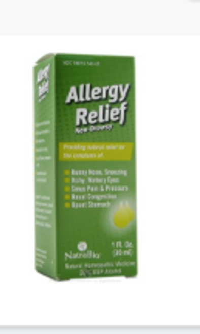 ALLERGY RELIEF,  Natrabio, 1 fl oz