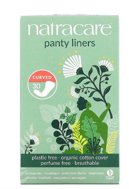 PANTY LINERS, MINI, ORGANIC, 30 CT