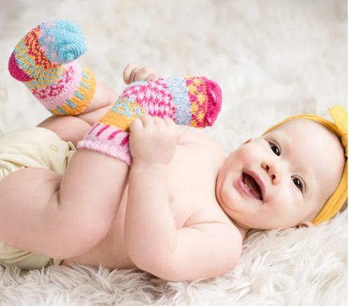 SOCKS, BABY SMALL CUDDLE BUG, Solmate - 5 socks