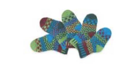 SOCKS, BABY SMALL JUNE BUG, Solmate -  5 socks