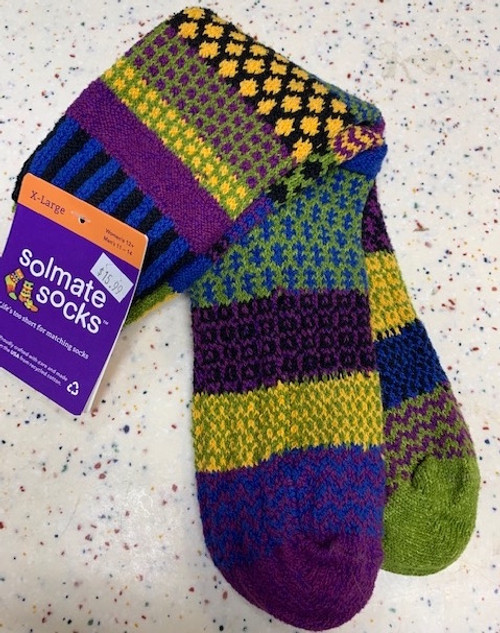 SOCKS, CREW SOCKS, XL OCTOBER MORNING, Solmate Socks