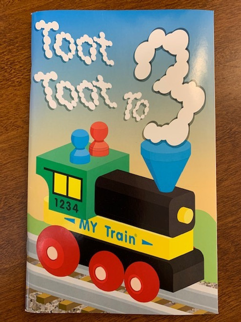 CARD, BIRTHDAY BOOK AGE 3 TRAIN, Maple Landmark - 48 Pages
