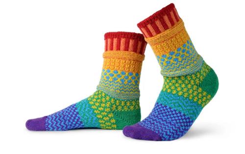 SOCKS, CREW SOCKS, MEDIUM FIFTH ELEMENT, Solmate Socks