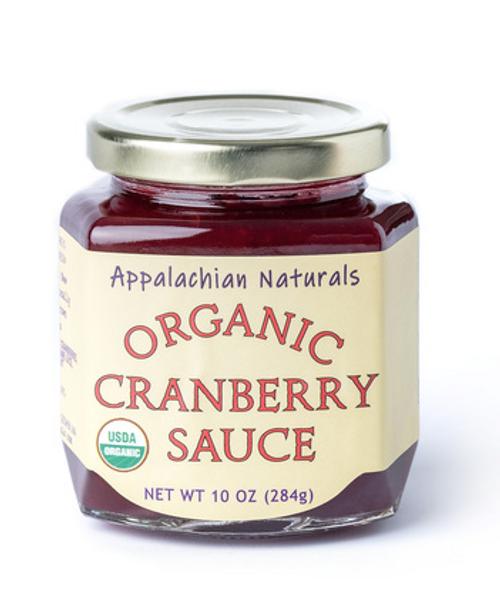 CRANBERRY SAUCE ORGANIC, Appalachian Naturals - 11 oz