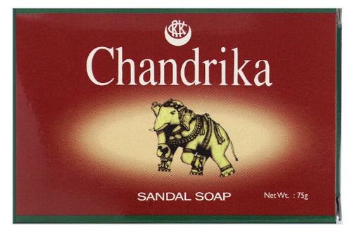 BAR SOAP, SANDALWOOD, CHANDRIKA,   75 grams