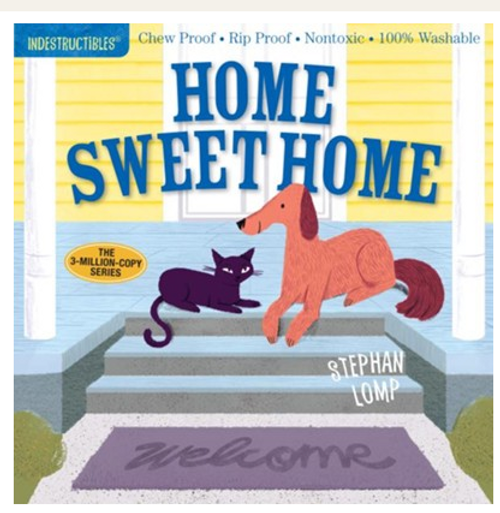 BOOK, HOME SWEET HOME, Indestructibles - 12 Pages